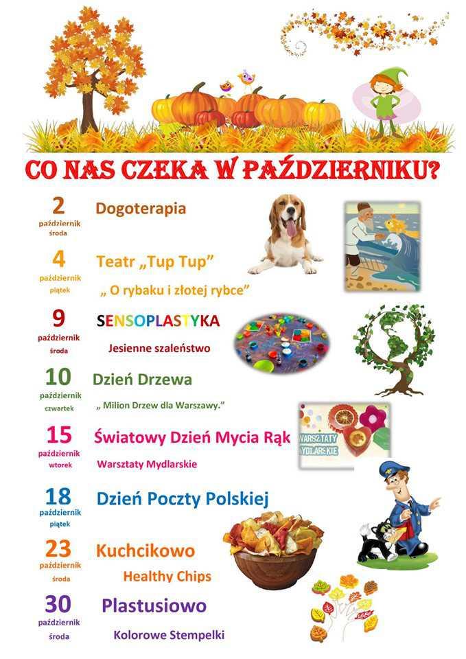 Kalendarium PAŹDZIERNIK2019